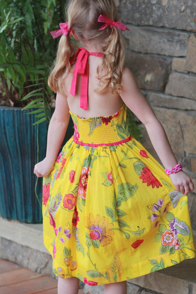 Sunshine Halter Dress