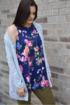 Bright and Floral Top
