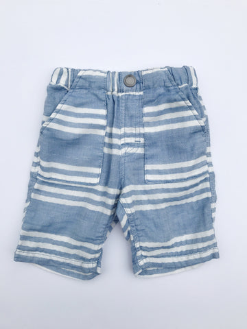 Bahama Blue Stripe Short