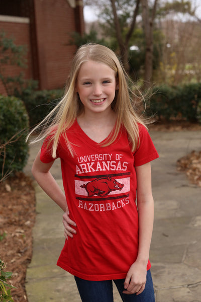 Razorback V-neck Shirt
