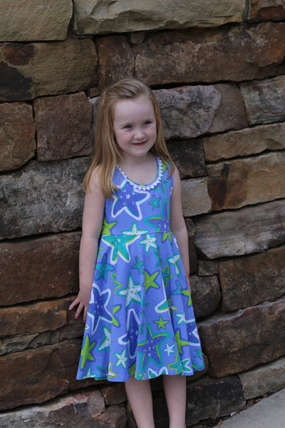 Starfish Swing Dress