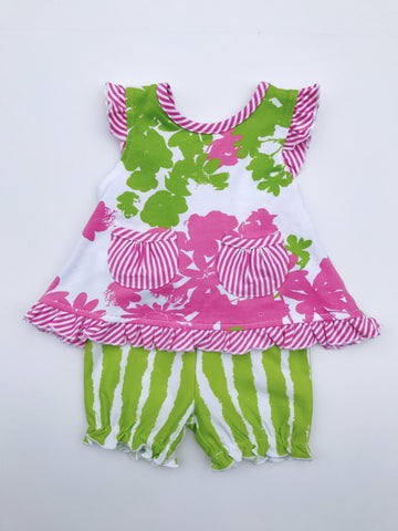 Garden Party Swing Top & Short Set
