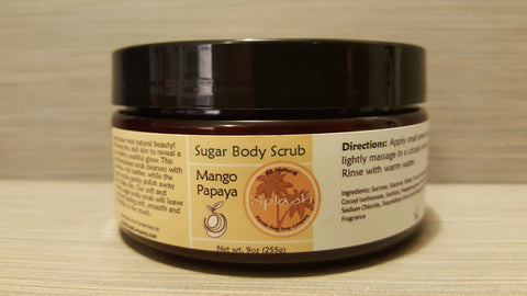 Mango Papaya Sugar Body Scrub
