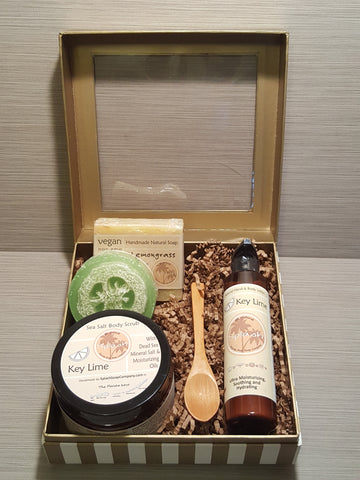 Spa Gift Set (Sea Salt Body Scrub)