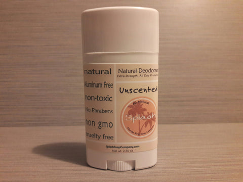 Natural Deodorant-Unscented