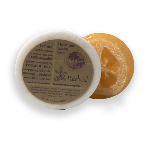 NEW! Patchouli Loofah Soap