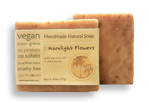 Moonlight Flowers Natural Soap