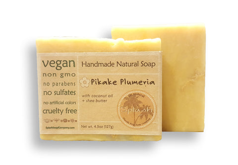 NEW! Pikake Plumeria Natural Soap