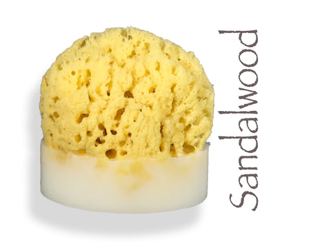 Sandalwood Sea Sponge Soap