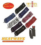 HEATWAVE Personal .5oz Pepper Spray with Key Chain Holster CAMO NEW-HW05H-PNKCM
