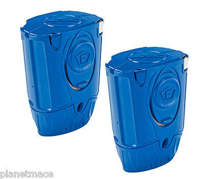 2 Pack TASER® C2 Blue Training Cartridge 37217 Non-Conductive 15' NEW-AT37217