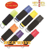 HEATWAVE Molded Pepper Spray .5 oz Spin Top with Jogger Strap New-HW05SJ-BLK