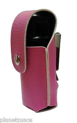 Leatherette Holster 2oz Canister Self Defense Pepper Spray PINK NEW-HOL2-PNK