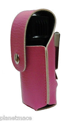 Leatherette Holster 4oz Canister Self Defense Pepper Spray PINK  New-HOL4-PNK