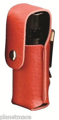 Leatherette Holster 4oz Canister Self Defense Pepper Spray RED New-HOL4-RED