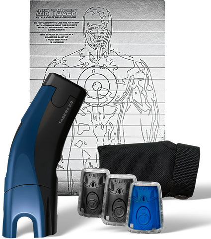 Taser® C2™ Gold Kit with Laser Sight - Blue