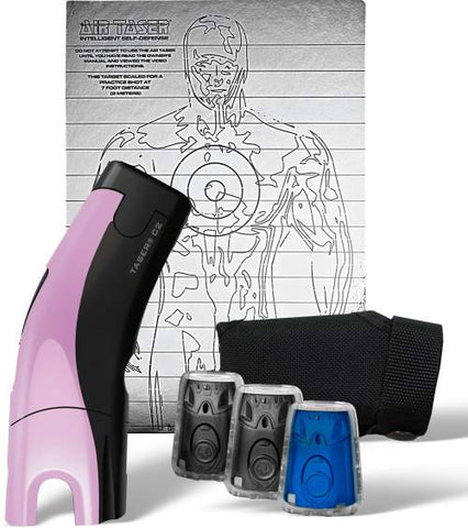 Taser® C2™ Gold Kit with Laser Sight  - Fashion Pink