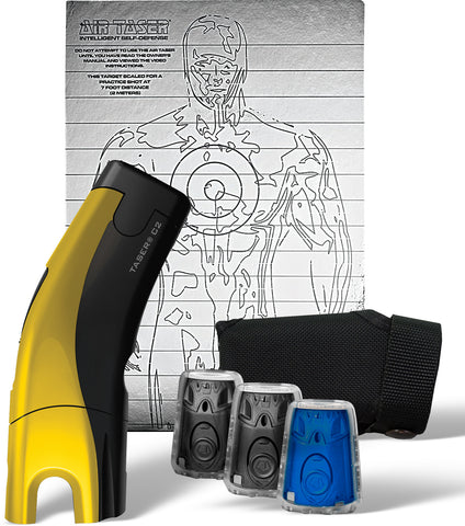 Taser® C2™ Gold Kit with Laser Sight  - Yellow