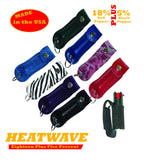 HEATWAVE .5 oz.  Leather Holster Pepper Spray