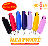 HEATWAVE .5 oz. Plastic Molded Pepper Spray