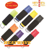 HEATWAVE .5 oz. Plastic SPINTOP JOGGER Pepper Spray