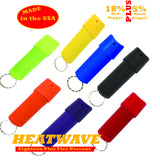 HEATWAVE .5 oz. Plastic SPINTOP Pepper Spray