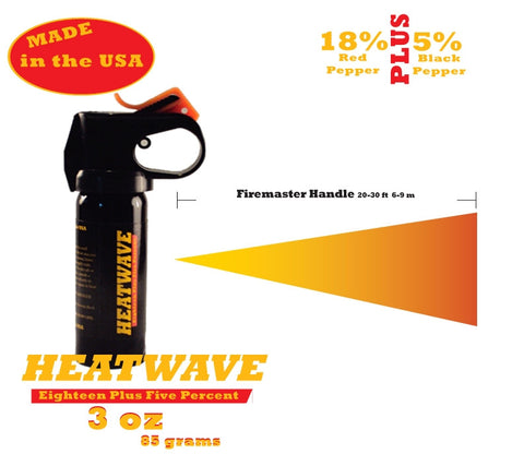 3 oz Fire Master Heatwave Pepper Spray