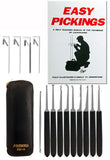 14 Piece Lock Pick Set with Instructional Manual