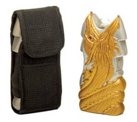 Dragon Stun Gun - Silver and Gold