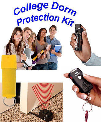 College Dorm Self Defense Protection Door Alarm Pepper Spray NEW-COLLEGE DORM
