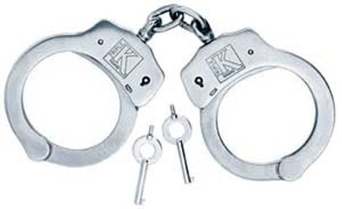Nickel Plates Tempered Steel Imported Handcuffs