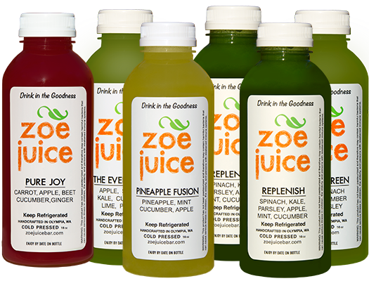 Cold Pressed Juice Washington