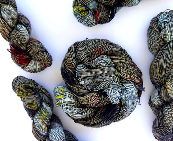 Psyche - 50% Superwash Merino 50% Silk - Single Fingering