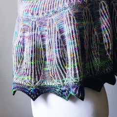 """Briornament shawl"" by Lesley Anne Robinson aka Knit Graffiti"