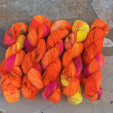 Pre-order 'POWERFUL Tits' - Ares: 75% superwash merino 25% Nylon - Sock