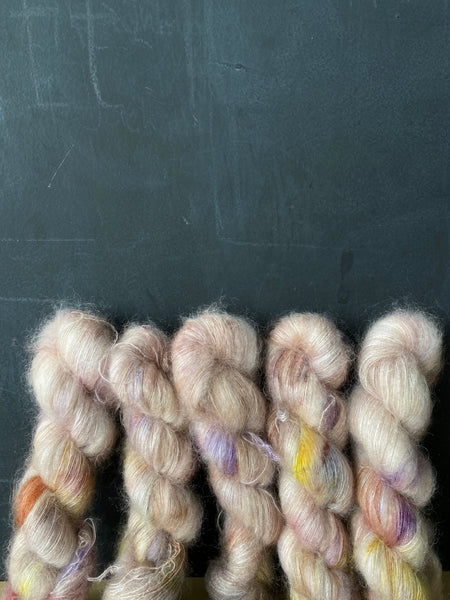 Escape Now - Poseidon: 72% Kid Mohair 28% Silk - Lace