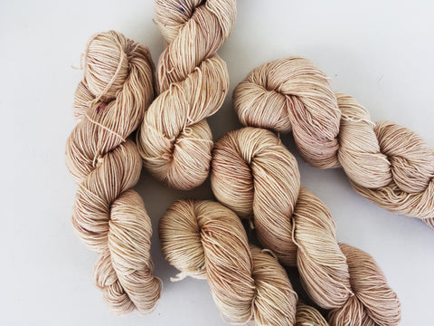 F*ckaccino Latte - Ares: 75% Superwash Merino 25% Nylon - Sock
