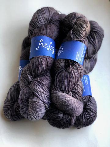 """Deep End"" - NYX: 80% Superwash Merino 10% Nylon 10% Cashmere"