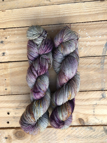 """ Sexiest Of Them All"" - Yama: 70% Superwash Merino 20% Yak 10% Nylon - Sock"