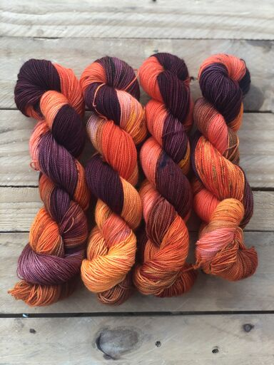 Mr Fox - Titan: 100% Superwash BFL High Twist - Fingering