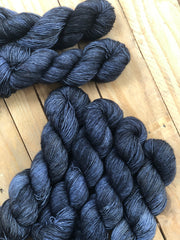 Star Wars - Eros - 95% Superwash Merino 5% Silver Stellina  - Single Fingering