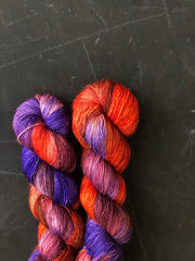 Kir Royale - Psyche - 50% Superwash Merino 50% Silk - Single Fingering
