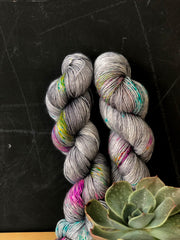 Requiem For A Dream - Psyche - 50% Superwash Merino 50% Silk - Single Fingering