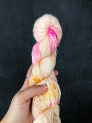 Kiss My Neon - Psyche - 50% Superwash Merino 50% Silk - Single Fingering