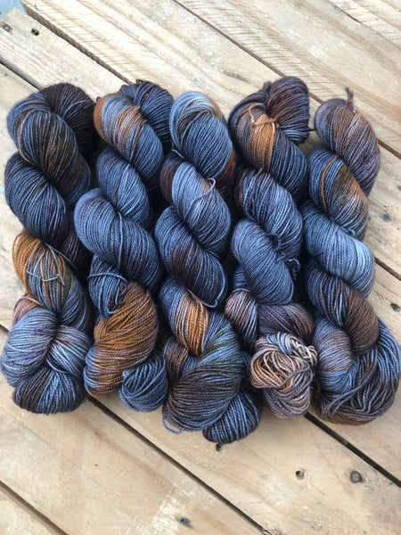 Sirius Black - Titan: 100% Superwash BFL High Twist - Fingering