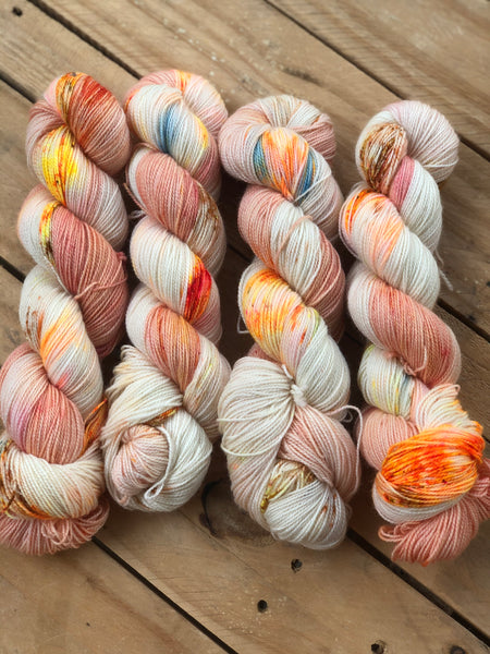 Birdman - Titan: 100% Superwash BFL High Twist - Fingering