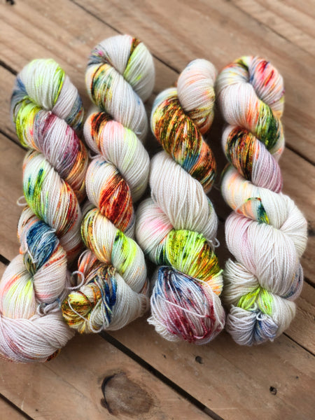Pollock - Titan: 100% Superwash BFL High Twist - Fingering