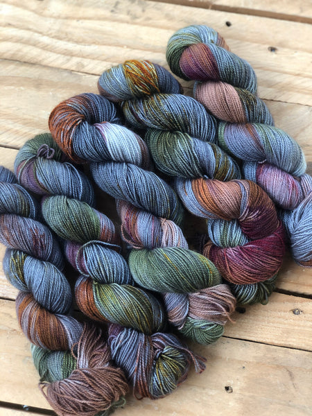 Authentic ways - Titan: 100% Superwash BFL High Twist - Fingering