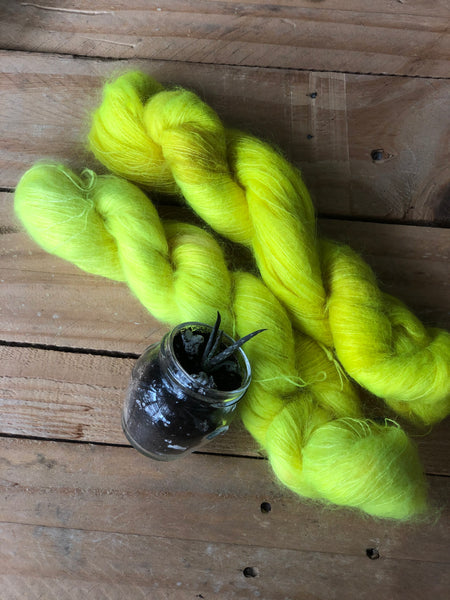 Lemon Incest - Poseidon: 72% Kid Mohair 28% Silk - Lace