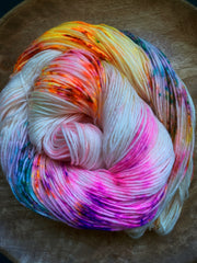"""Instant Crush"" - NYX: 80% Superwash Merino 10% Nylon 10% Cashmere"